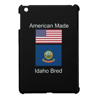 """American Born..Idaho Bred"" Flags and Patriotism iPad Mini Cases"