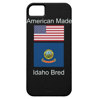 """American Born..Idaho Bred"" Flags and Patriotism iPhone 5 Cover"