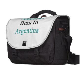 American Born In Argentina Laptop Bag