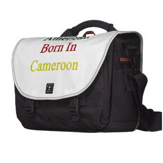 American Born In Cameroon Laptop Commuter Bag