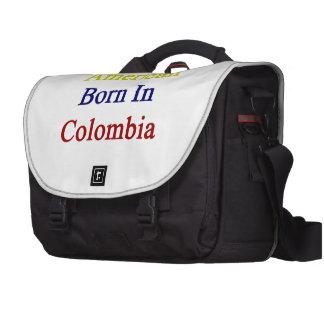 American Born In Colombia Computer Bag