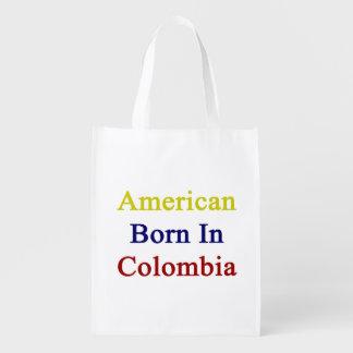 American Born In Colombia Market Tote