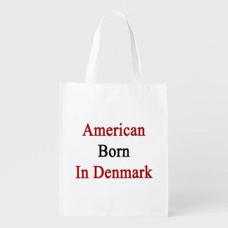 American Born In Denmark Reusable Grocery Bag