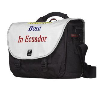 American Born In Ecuador Laptop Bag