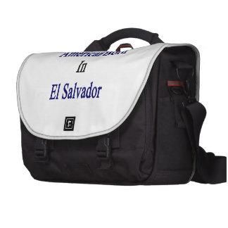 American Born In El Salvador Commuter Bags