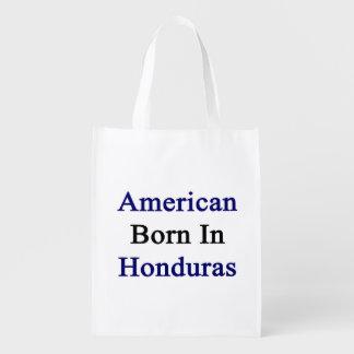 American Born In Honduras Market Totes