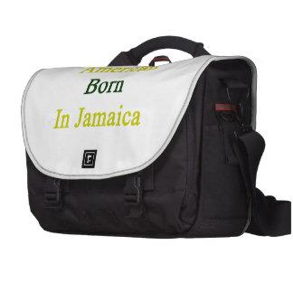 American Born In Jamaica Computer Bag
