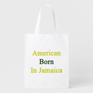 American Born In Jamaica Market Tote