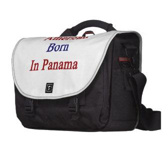 American Born In Panama Laptop Bag