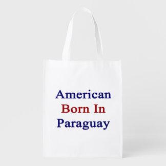 American Born In Paraguay Market Tote