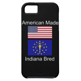 """""""American Born..Indiana Bred"""" Flags and Patriotism iPhone 5 Covers"""