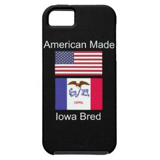 """American Born..Iowa Bred"" Flags and Patriotism iPhone 5 Case"