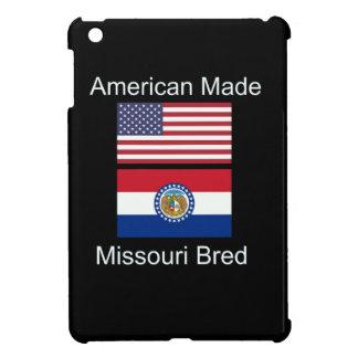 """""""American Born..Missouri Bred"""" Flag Design iPad Mini Case"""