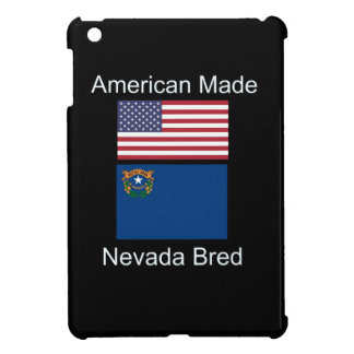 """American Born..Nevada Bred"" Flags and Patriotism iPad Mini Cover"