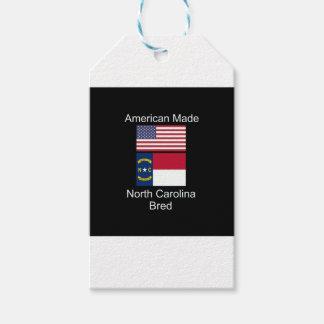 """""""American Born..North Carolina Bred"""" Flag Design"""