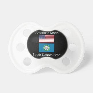 """American Born..South Dakota Bred"" Flag Design Dummy"