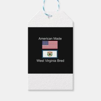 """American Born..West Virginia Bred"" Flag Design"