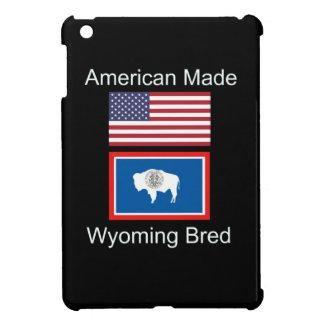 """American Born..Wyoming Bred"" Flags and Patriotism iPad Mini Case"