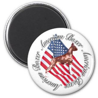 American boxer magnet