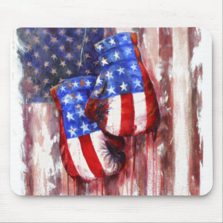 American Boxing Tradition Mouse Pad