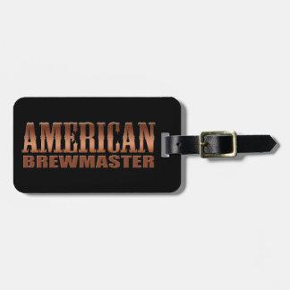 american brewmaster home brewer beer bag tag