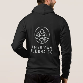 American Buddha Co. BlackOut Men's Full-Zip Hoodie