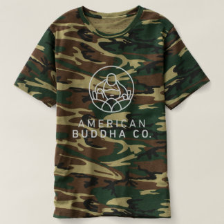 American Buddha Co. Camouflage Men's Basic Tee