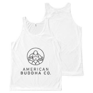American Buddha Co. Original Unisex Tank All-Over Print Tank Top