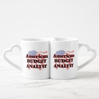 American Budget Analyst Couples Mug