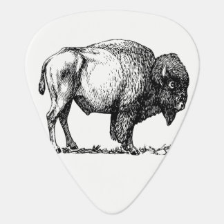 American Buffalo Bison Guitar Pick