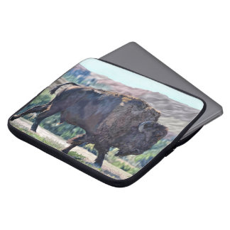American Buffalo Bison Laptop Sleeve