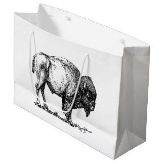 American Buffalo Bison Large Gift Bag