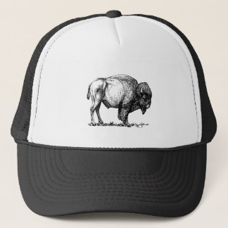 American Buffalo Bison Trucker Hat