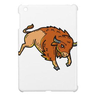 American Buffalo Jumping Mono Line iPad Mini Case