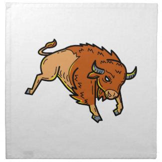 American Buffalo Jumping Mono Line Napkin