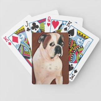 American Bull Dog Bicycle Playing Cards
