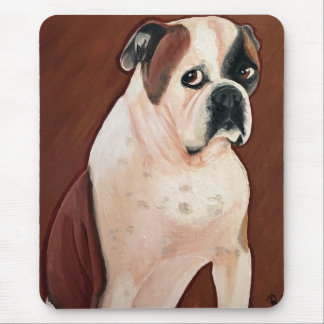 American Bull Dog Mouse Pad
