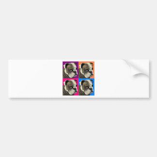 American Bulldog Does Pastel Bumper Stickers