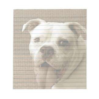 American Bulldog Notepad