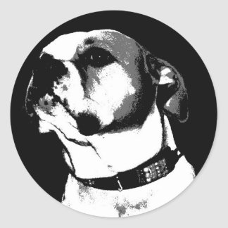 American bulldog sticker