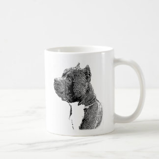 American bully dog classic coffee mug