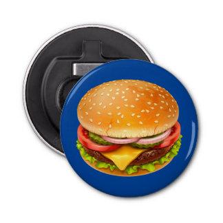 American Burger Bottle Opener