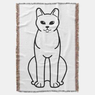 American Burmese Cat Cartoon