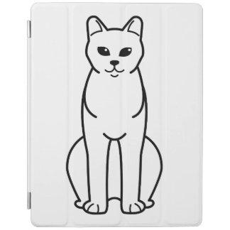 American Burmese Cat Cartoon iPad Cover