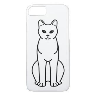 American Burmese Cat Cartoon iPhone 7 Case