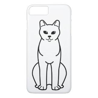 American Burmese Cat Cartoon iPhone 7 Plus Case