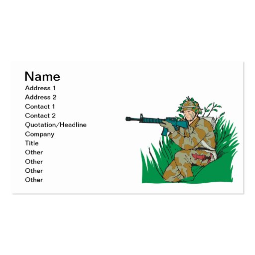 American Bushman Business Card