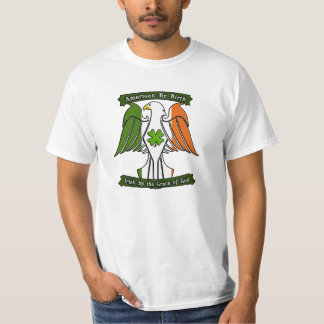 American by Birth, Irish by the Grace of God Eagle T-Shirt