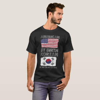 American by Birth Korean by Grace of God Heritage T-Shirt