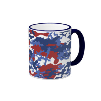 American Camo Glass Mug
